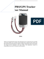 GPS303 CD User Manual