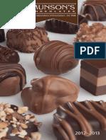 Munson's Chocolate Catalogue
