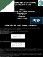 Quimica, Mol