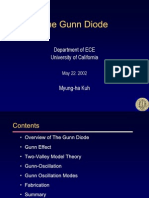 The Gunn Diode