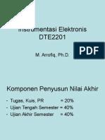 1st Instrumentasi Elektronis