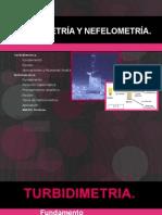 Turbidimetría y Nefelometría