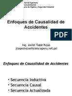 Enfoques de Causalidad de Accidentes