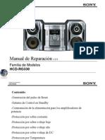 SonyHCD-RG330 Manual de reparacion
