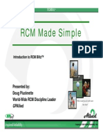 RCM made Easy