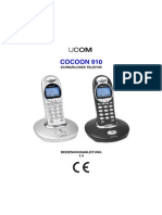 Manual Cocoon 910 DE