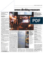 Golden welcomes climbing museum