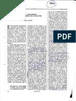 Lefort, C. Creencia y Descreencia.