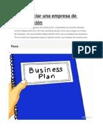 Cómo Iniciar Una Empresa de Construcción