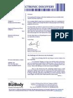 Bizilaw E-Discovery Newsletter November 2009 - Published by Bizibody