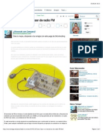 Cómo Hacer Un Transmisor de Radio FM - Taringa!