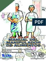Manual Manipulador Alimentos RIVERA