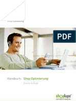 Shoplupe Handbuch 2.0 - Shop Usability Consulting