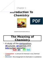 F4 Chemistry Chapter 1