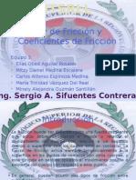 4.3 Ley de Fricción y Coeficientes de Fricción