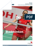Badminton Design Guide