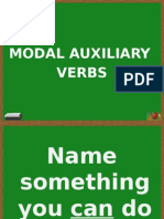 Speaking Activity Modal Auxiliary Verbs
