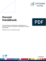 Uptown School - Parent Handbook