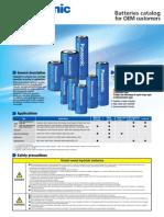 Batteries Catalog OEM id_ni-mh_e