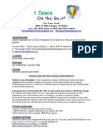 JDS on the Go Policies and Procedures
