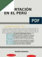 EXPORTACION EN EL PERU