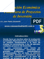 Adm. Financiera - Proyectos de Inversion - Zambotti