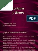 Adm. Financiera - Acciones y Bonos