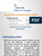 Desnutricion Malnutricion en Mexico EQUIPO30