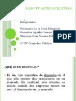 Duopolio Tv Azteca Televisa