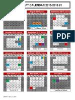 2015-16 School Calendar Option 1