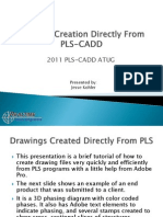 Drawing Creation asfaDirectly From PLS-CADD
