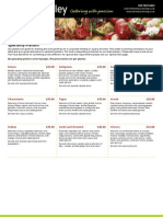 Berkeley Catering-Speciality Platters