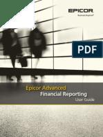 Epicor Advanced Financial Reporting User Guide 10.0.600