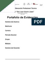 Formatos Portafolio Evidencias