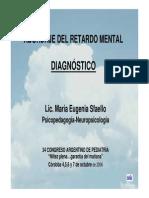 Diagnóstico Retraso Mental Articulo