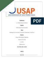 Estrategia de La Inversion Honduras, Guatemala y Costa Rica