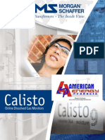 Calisto - Brochure and Technical Specifications