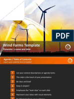 Wind Farms Template by StratPro