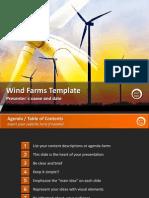 Wind Farms Template by StratPro
