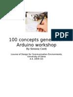 100 Concepts Generation_Simona Conti (Arduino Workshop Dic 09- Jan 10)