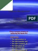Logistics Management Jagathy