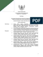 Peraturan Bupati Magelang Nomor 32 Tahun 2011