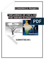 project on FDI