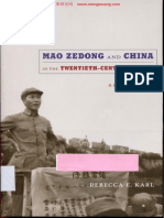 Rebecca E.karl - Mao Zedong and China in the Twentieth Century World.a Concise History