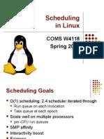Scheduling (5)