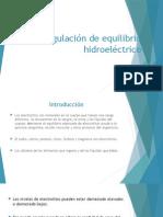 Regulación de Equilibrio Hidroeléctrico