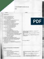 Admin Law Demigillo Course Outline 1