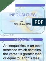 12 Inequality Equations