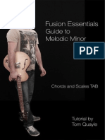 Chords and Scale tab