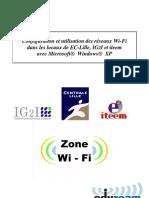 Configuration Et Utilisation Des Reseaux Wifi